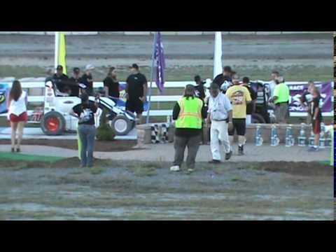 Bear Ridge Speedway - 7-26-14 - USAC Dirt Midget Feature