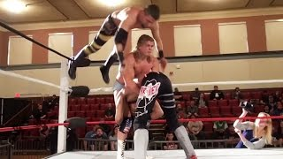 Sunset Flip Canadian Destroyer Launches Wrestler Across Ring | Beyond Wrestling #overnitesensation
