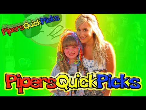 ASHLEY TISDALE Twitter & INTERVIEW w TWEEN REPORTER PIPER REESE Phineas and Ferb! (PQP #069)