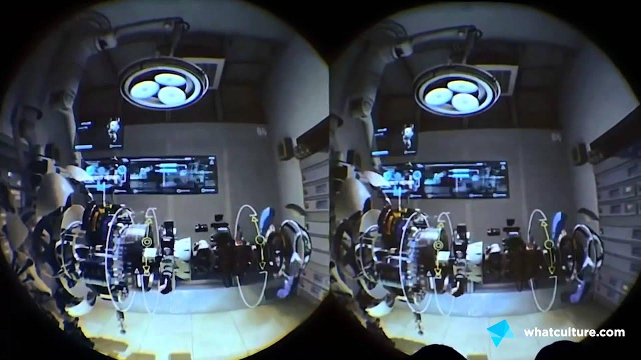 HTC Vive - Hands-On -  EGX 2015