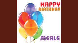Happy Birthday Merle