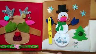 Quietbook - Christmas - by Alpenglück die Nadelmanufaktur