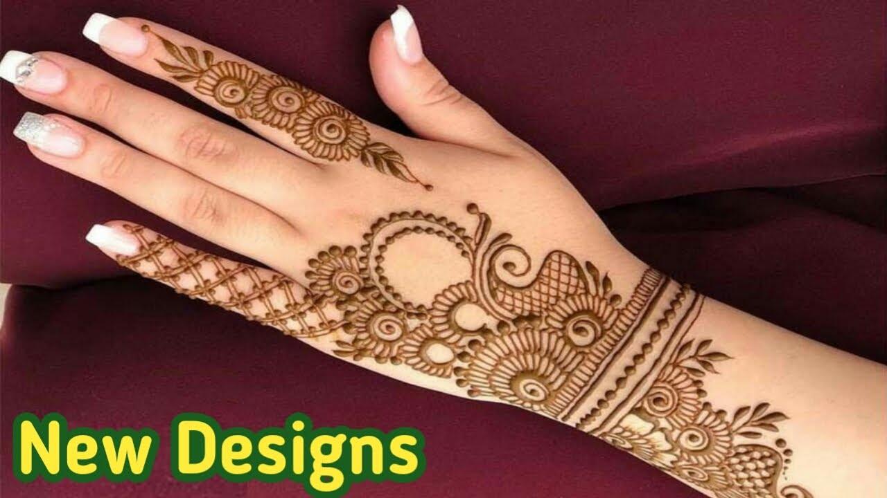 mehandi design for girls 2021