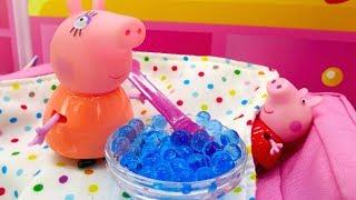 Peppa Pig en français pour enfants. Thé au citron