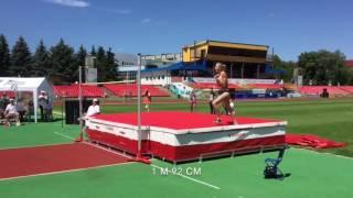 Алина Шух-украшение третьего дня Чемпионата Украины по лёгкой атлетике 2016
