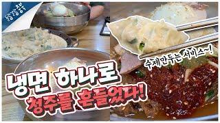 청주 냉면맛집 원산냉면을 먹으러 가다!|cheongju…
