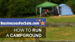 How to run a campground