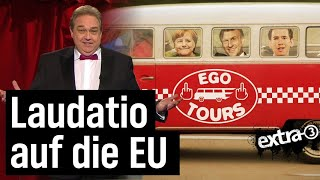 Oliver Kalkofes Laudatio für die Europäische Union