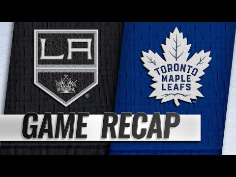 Kapanen scores two to lead Maple Leafs to 4-1 win
