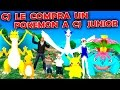 Cj le compra un Pokemon a Cj junior - Loquendo - Gta san andreas