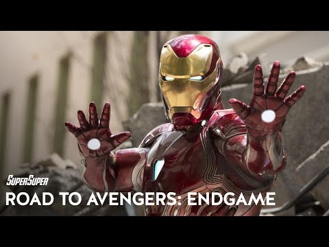 Road to Avengers: Endgame- Ironman a.k.a. Tony Stark | SuperSuper