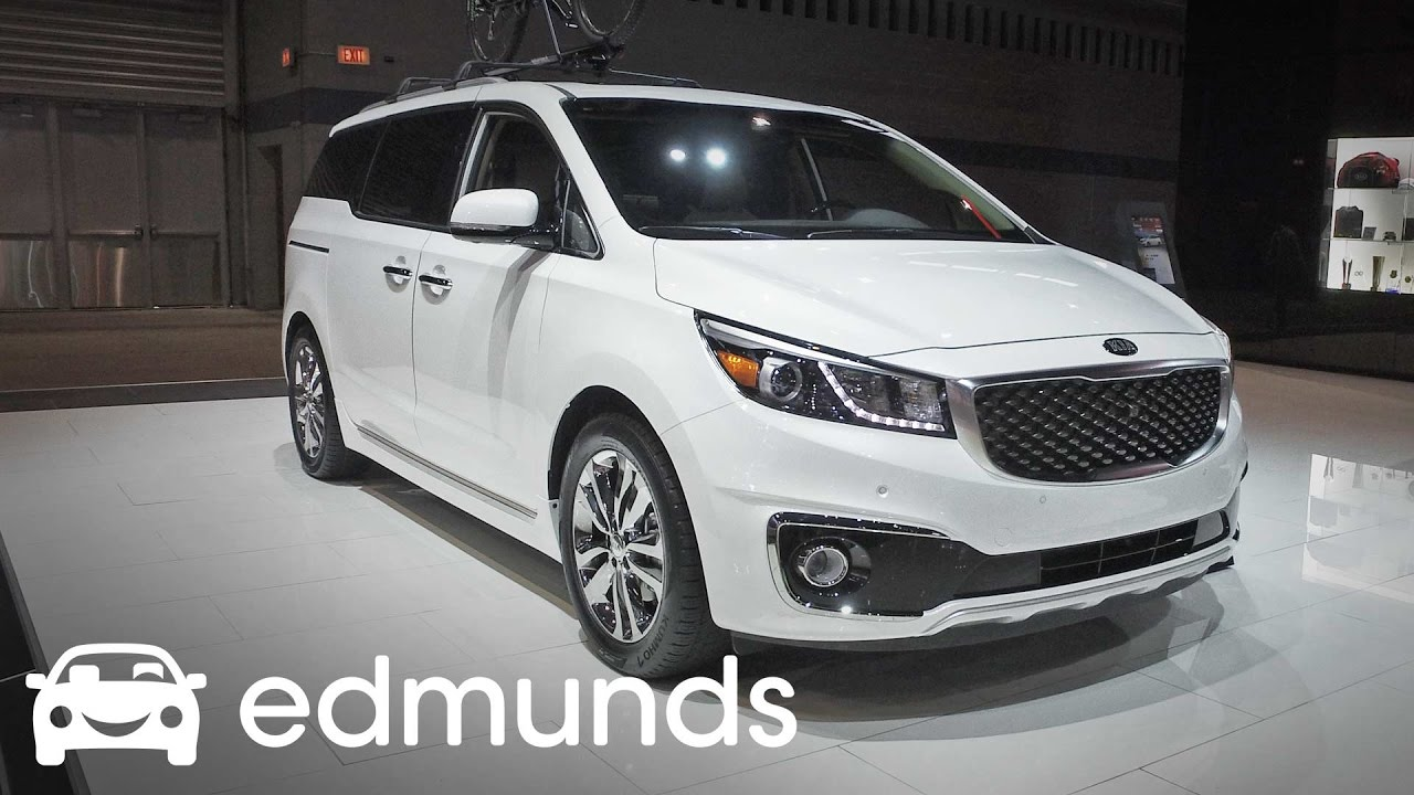 2017 Kia Sedona Review Features Rundown Edmunds