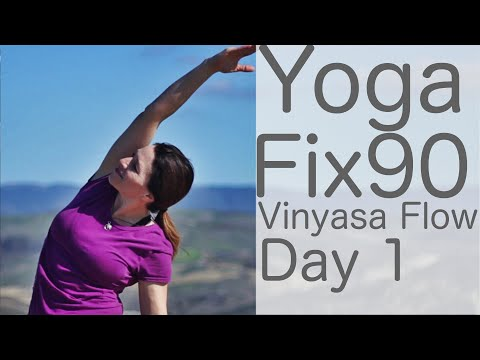 Yoga Fix 90 Day 1 Vinyasa Flow With Fightmaster Yoga