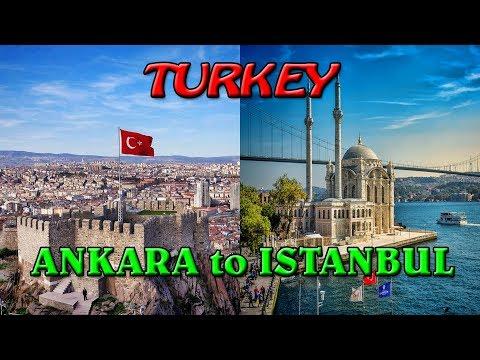 Ankara to Istanbul -With bus to the Oriental Europe ep42-Travel video vlog calatorii tourism