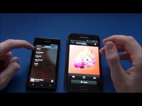 HUAWEI Ascend P1 vs. Samsung Galaxy Note