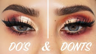 EYESHADOW DO's and DON'Ts | BrittanyBearMakeup