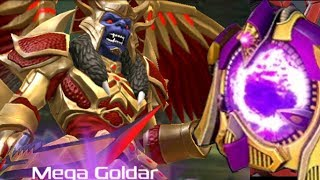 Power Rangers Legacy Wars - Megazord Mode and Mega Goldar Zord's Box Opening. Snide level up