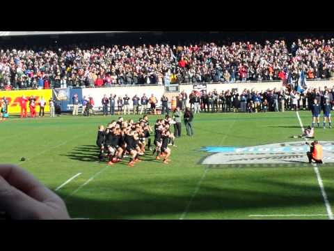 Haka In Chicago New Zealand  Vs USA Rugby 2014