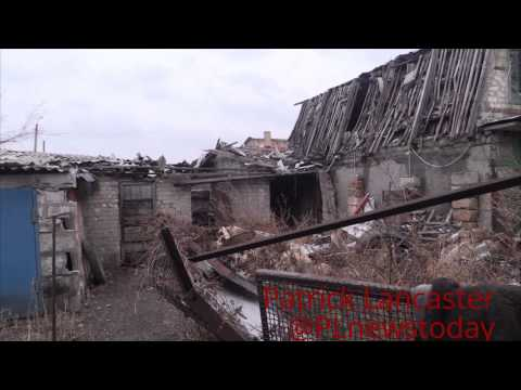 Spartak the humanitarian crisis; no gas, water or electricity 95% of homes damaged by Shelling