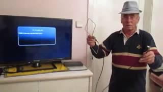 Immer neue Ideen aus Österreich : DVBT Antenne mit eingebauten Dämpfungsglied - Unikat 2016...