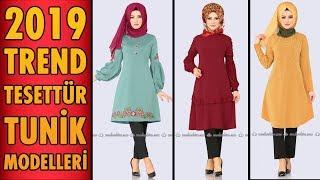 2019 #Trend Tesettür Tunik Modelleri   #Hijab #Tunic   #tesettür #tunik #modaselvim