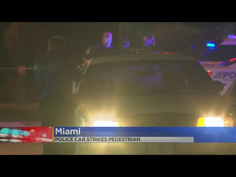 Coral Gables Police Officer Strikes Pedestrian With Patrol Car