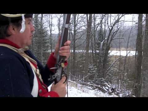 Loading and Firing a Musket