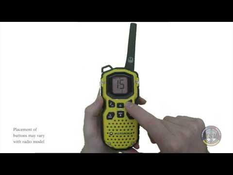 FRS Radio 101: Radio Basics
