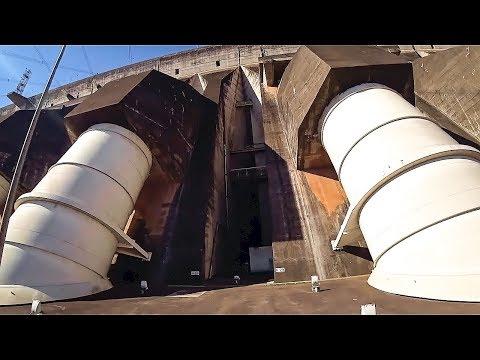 Самая мощная в мире ГЭС Итайпу. Бразилия #2