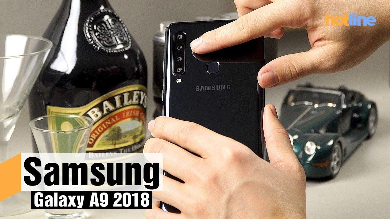 Samsung Galaxy A9 2018 — первый смартфон с четырьмя основными камерами