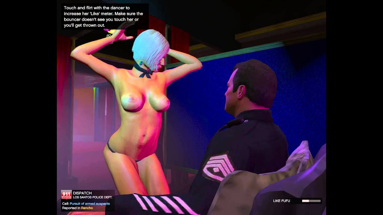 Gta 5 strip club lap dance