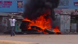 NO COMMENT  Քենիայի բնակիչները ցույցեր են անցկացնում՝ ընտրությունների առնչությամբ