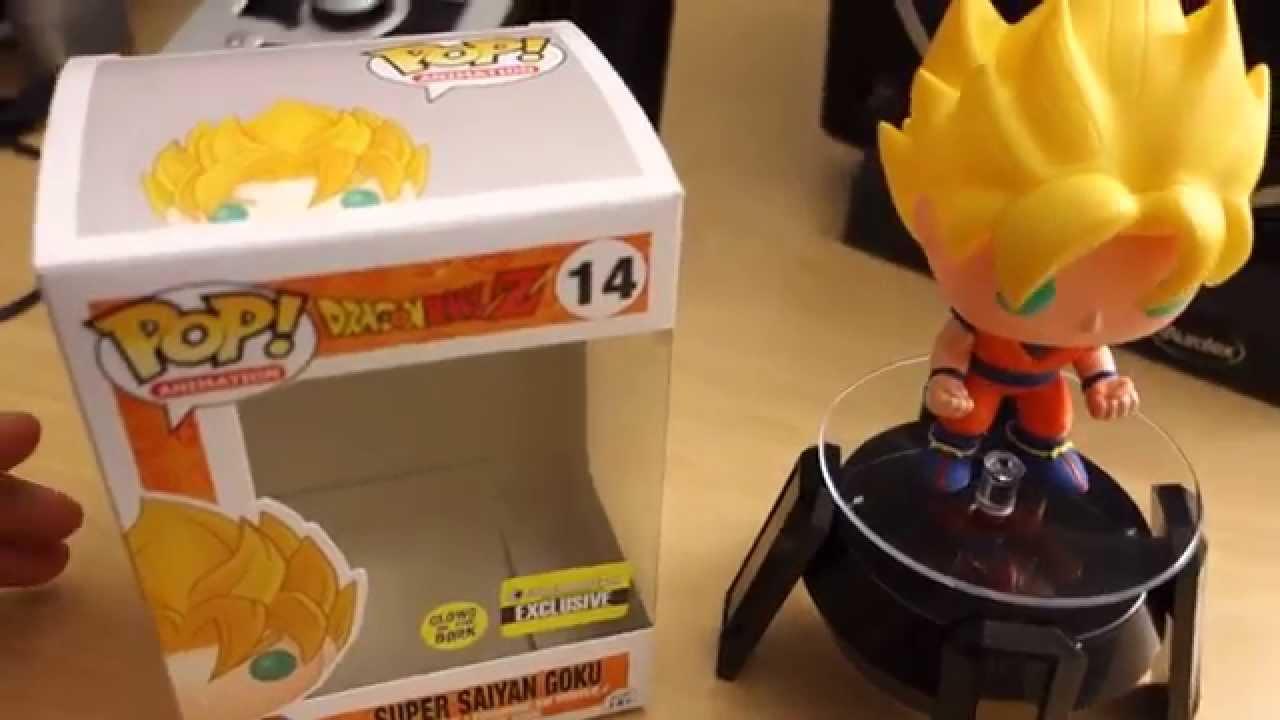 Vinyl Figure Dragon Ball Z Super Saiyan Goku Glow Pop