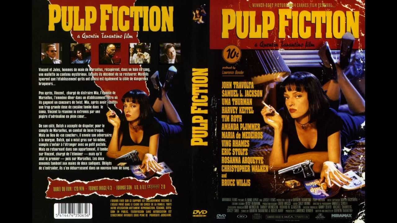 Pulp Fiction Watch up Arsch