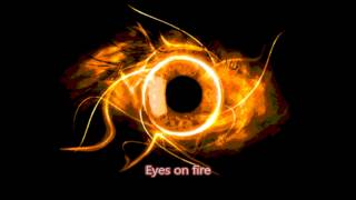Blue Foundation - Eyes on Fire [Karaoke Version] -with Lyrics