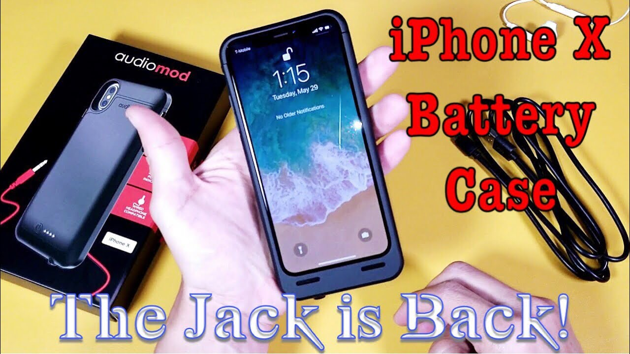 san francisco e1d4a bc3e4 Best iPhone X Battery Case 4100mAh | The Mic Jack is Back!!!