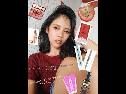 SIMPLE AND EASY EVERYDAY GO TO MAKEUP TUTORIAL l Vlog #30 l Philippines thumbnail