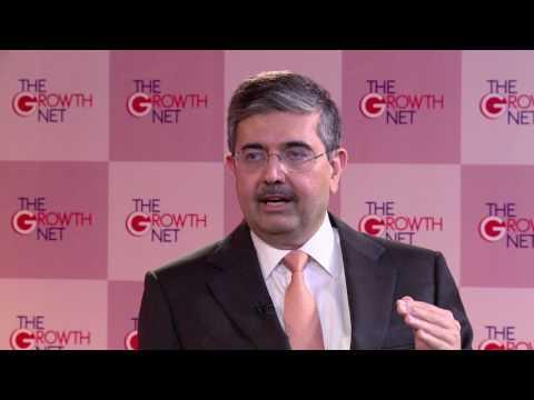 Uday Kotak, Vice Chairman & MD Kotak Mahindra Bank || The Growth Net 2017