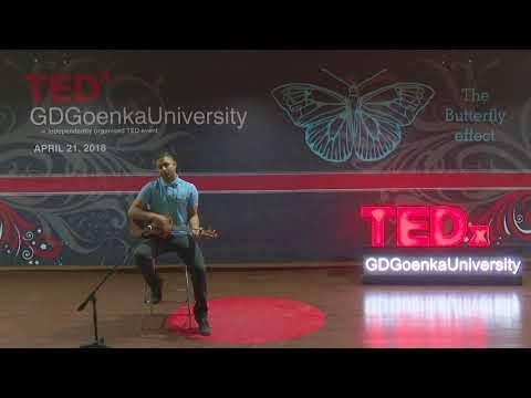 Music and Meditation | Vaneet Chaudhary | TEDxGDGoenkaUniversity