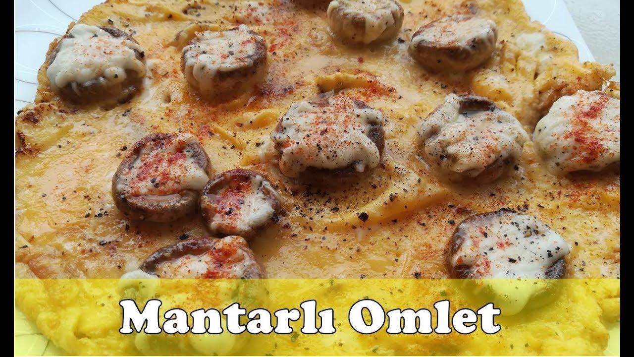 Mantarlı Omlet Nasıl Yapılır