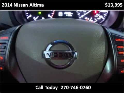 2014 Nissan Altima Used Cars Bowling Green KY