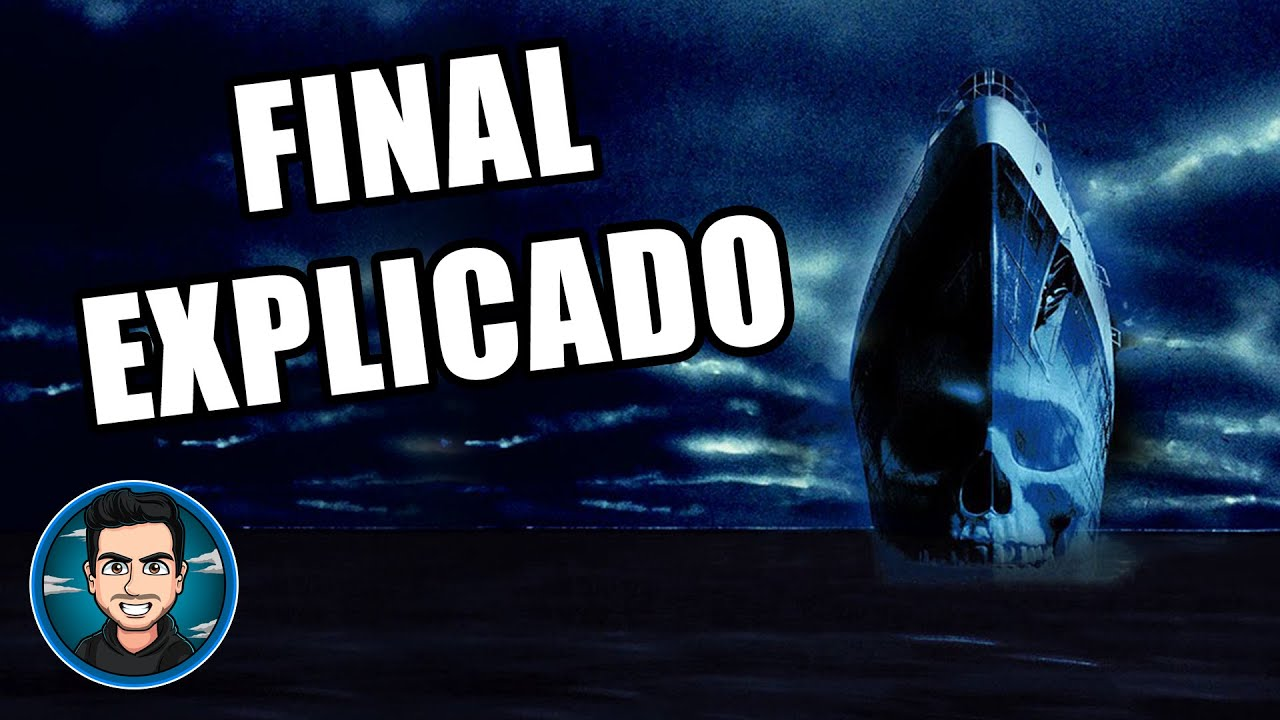 Final Explicado El Barco Fantasma (Ghost Ship - 2002) ¿El Resplandor En Alta Mar?