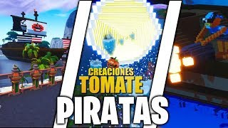 ¡Piratas! - Fortnite Creaciones Tomate - Episodio 13