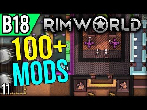 RimWorld Beta 18 Modded | Maybe Too Peaceful (RimWorld Mods Gameplay part 11)