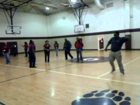 carvers bay middle school teacher dance for pass