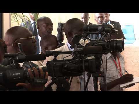 17 Avril 2014, Jeffrey feltman rencontre le président Ouattara