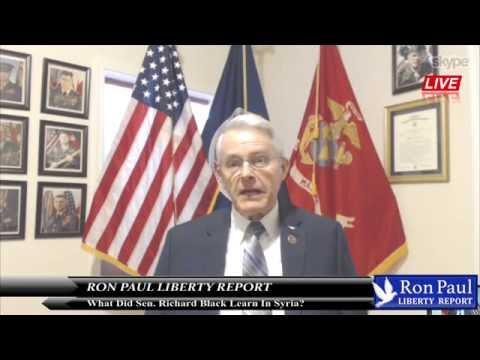 What Did Sen. Richard Black Learn In Syria?