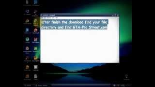 How to Download  GTA Vice City Pro Street (2011)