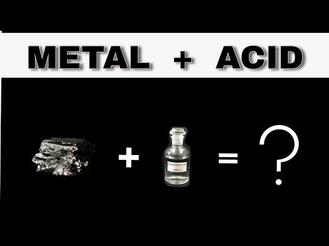 HOW DO METAL REACTS WITH ACID AND BASE   CLASS 10   LESSON 2   WIKI SCIENCE