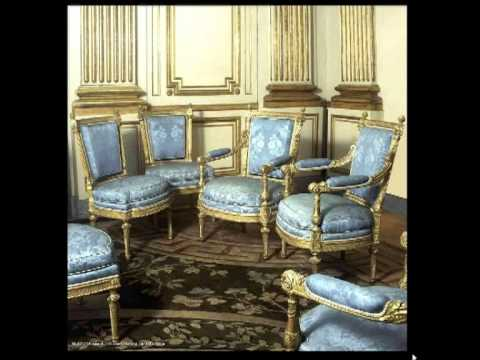 Muebles estilo Luis XVI 5 parte sillerias  YouTube
